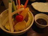 中中の野菜スティック
