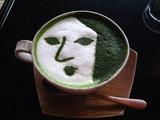 よーじやカフェ抹茶カップチーノ