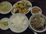 西安刀削麺の日替わりランチ