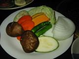萬事亭焼野菜