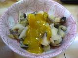 つぶ貝の味噌和え