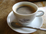 ハナアートのカフェのコーヒー