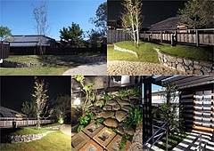 U-NE-RI garden in Tokoname