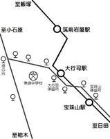 路線図宝珠山