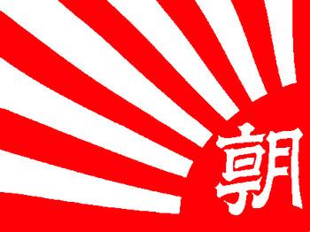 朝日新聞社旗