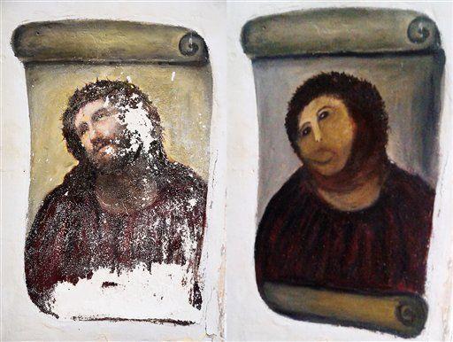 キリストのフラスコ画