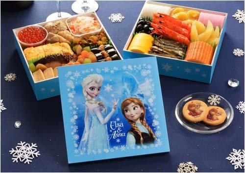 アナと雪の女王とおせち