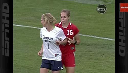 女子サッカー乱闘