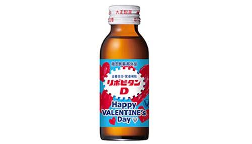リポビタンDバレンタイン限定ボトル