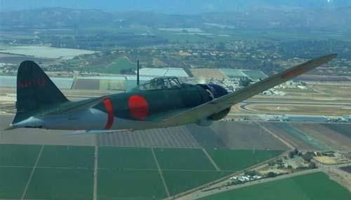 戦後初となるゼロ戦のフライト