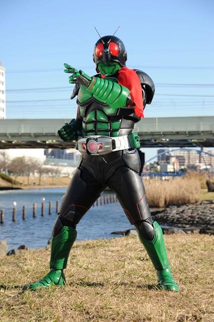 仮面ライダー1号パワーアップ