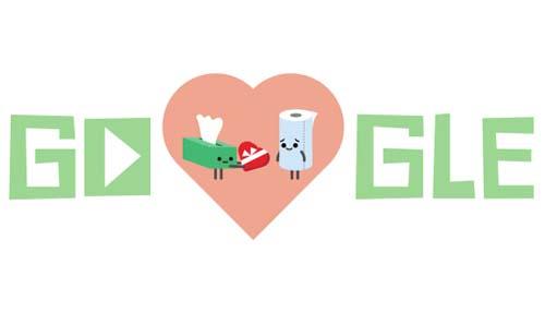 Googleバレンタイン