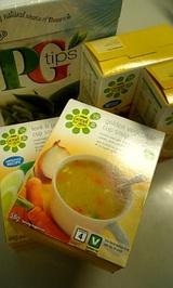 紅茶&スープ