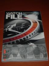 WATCH FILE 8(表紙)