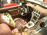 AlfaSpiderドライバーズシート