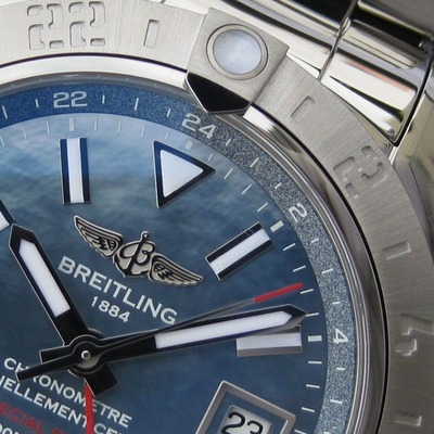 AVENGER II GMT BLUE MOTHER-OF-PEARL (0)