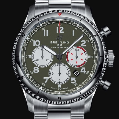 AVIATOR 8 B01 CHRONOGRAPH 43 CURTISS WARHAWK (2)