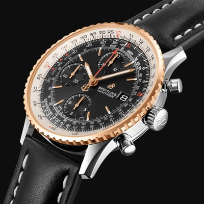 NAVITIMER CHRONOGRAPH 41 18K RED GOLD x BLACK (2)
