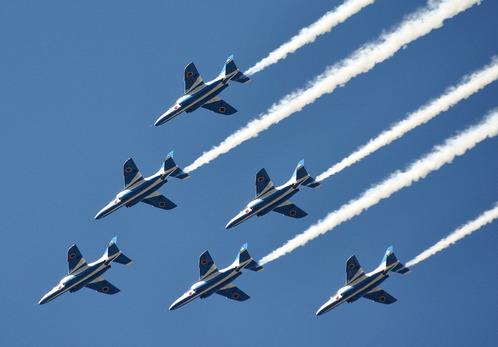 航空祭 ブルーインパルス