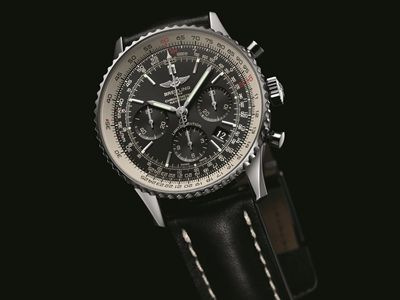 Navitimer 01 Black Black - Japan Limited Editio_001