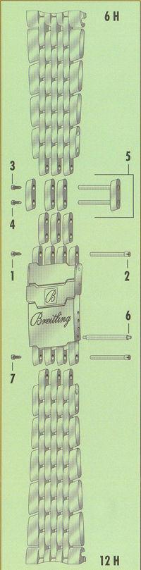 ナビタイマーブレスの構造1