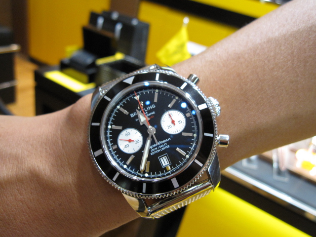 another chance 6a74b 3cc52 Watching Touching Breitling Blog ~スピリット・オブ ...