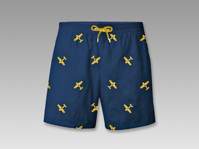 "SWIM+SHORTS+""BREITLING+BY+LES+CANEBIERS"""