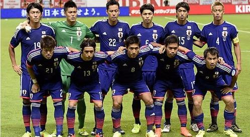 日本対ウルグアイ
