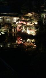 長瀞庭園ライトアップ夜