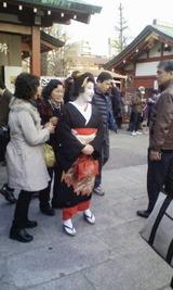 浅草寺舞妓
