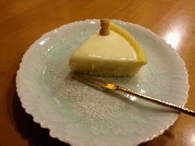 ホワイトチーズケーキ