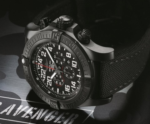 Breitling-Super-Avenger-Military-Watch-on-Side