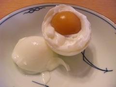 炊飯器で温泉卵
