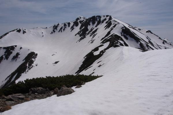 仙丈ヶ岳 仙丈小屋 冬季小屋 避難小屋 5月 南アルプス