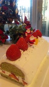 抹茶クリスマスケーキ