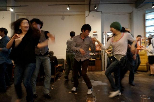 東京カフェ・サルサOhashi&RIOとYoko&Takashi