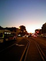 夕日のブラックハーレム