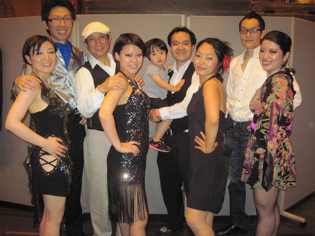 20120602横浜サルサコンテスト 012コンテスト出演記念写真