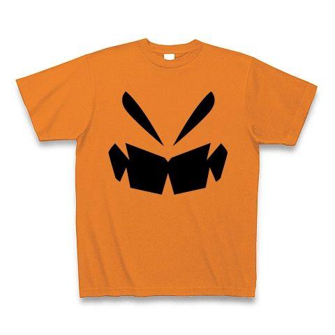 【可哀想なデミトリー!宇宙戦用ハロウィン風グッズ!】パロディシリーズ 偽ハロウィンかぼちゃ Tシャツ(オレンジ)【おもしろTシャツ】