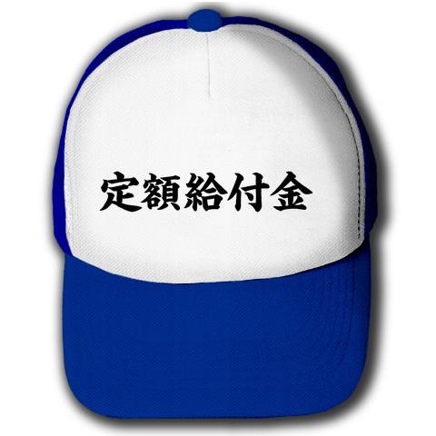 アピールシリーズ 定額給付金 キャップ(ロイヤルブルーxホワイト)
