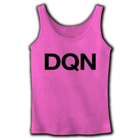 【ドキュンTシャツ!DQNグッズ!】アピールシリーズ DQN(2012ver) リブタンクトップ(ピンク)【DQNタンクトップ】