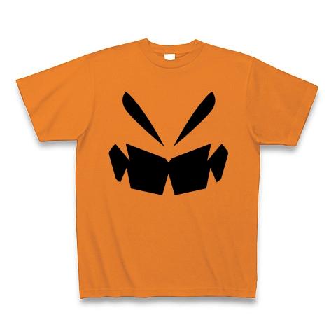 【可哀想なデミトリー!宇宙戦用ハロウィン風グッズ!】パロディシリーズ 偽ハロウィンかぼちゃ Tシャツ(オレンジ)