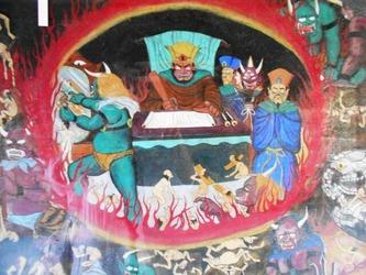 地獄絵図47番八坂寺