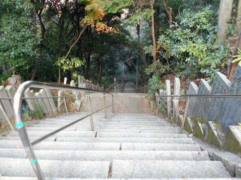 58番仙遊寺石段