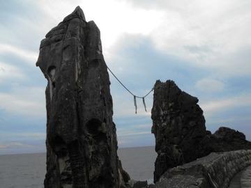 55号線の夫婦岩