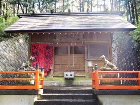 蓑山神社狛犬