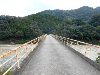 21番への道(那賀川の水井橋2)