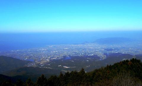 雲辺寺山頂からの景色1