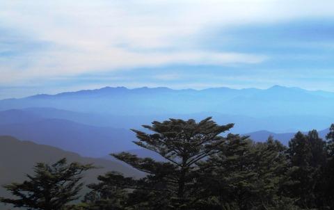 雲辺寺山頂からの景色2