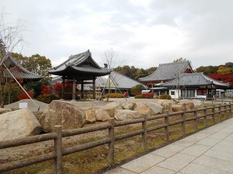 屋島寺境内